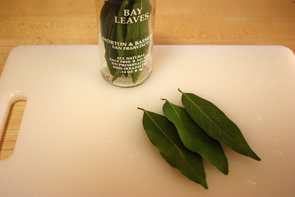 A few bay leaves
